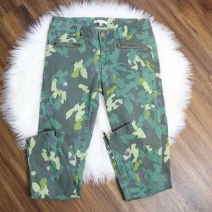 CAbi Clover Camo Zipper Jeggings - Style #766